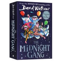 正版现货午夜帮 英文原版 The Midnight Gang 大卫少年幽默小说 罗尔德达尔继承人 儿童文学作家大卫威廉