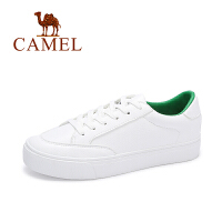 Camel/骆驼女鞋 秋季新款平底小白鞋 时尚百搭潮牌板鞋运动透气单鞋