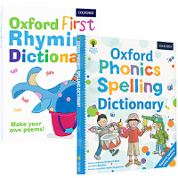 Oxford Phonics Spelling Rhyming Dictionary 3册 牛津自然拼读初级儿童韵律词