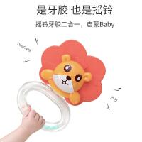 可水煮婴儿玩具手摇铃牙胶益智0-6-12个月3宝宝1岁新初生幼儿早教