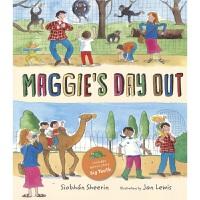 Maggie's Day Out 麦琪的外出日 附赠Big Teeth保护牙齿 品行习惯养成 情商管理 英文故事绘本 早