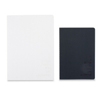 晨光文具缝线本笔记本学生记事本空白黑白记忆A5/16K APYFCA15