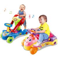 儿童多功能益智学步学习手扶推车 两用带音乐灯光a2088