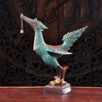 泰国黄铜摆件铜艺软装饰品摆件大鹏鸟摆件桌面摆件装饰礼物