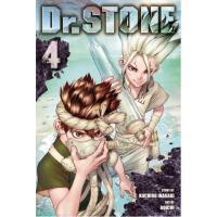 现货 石纪元 新石纪 第 4卷 英文原版 漫画 Dr. STONE, Vol. 4稻垣理一郎原作 Boichi作画