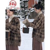 大码女装秋冬2018新款微胖妹妹心机套装减龄毛衣配裙子网红两件套