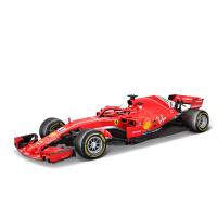 精装法拉利F1方程式赛车仿真合金汽车模型跑车摆件