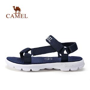 camel骆驼户外凉鞋 男女休闲运动凉鞋 夏季露趾透气沙滩鞋