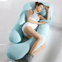 孕妇u型枕腰枕睡觉靠枕抱枕怀孕女孕妇枕头护腰侧睡枕托腹侧卧靠枕