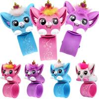 小�咪�子��物手表女孩女生萌��魔法手�h�和�啪啪圈玩具