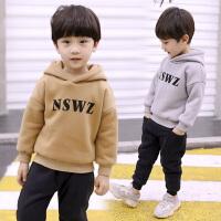 男童秋冬装运动套装小男孩衣服