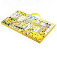 六一儿童节礼物 大礼包 文具套装 神偷奶爸小黄人卡通文具礼盒套装组和 送孩子 送学生奖品