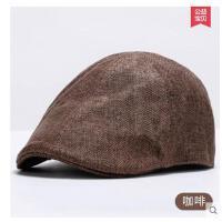 贝雷帽女士英伦韩版鸭舌帽女百搭时装帽画家帽纯色休闲帽子女秋冬