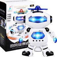 电动机器人 儿童玩具太空跳舞电动机器人360度旋转灯光音乐玩具 生日礼物六一圣诞节新年礼品