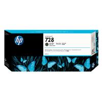 HP 728号墨盒 适用机器绘图仪 T830 T730 F9J68A  磨砂黑 MK 300ML