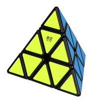 奇艺 魔方 金字塔3阶三角形4面体顺滑幼儿宝宝3岁以上成人比赛减压多色幼儿儿童异形玩具用品