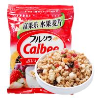 Calbee卡乐比北海道水果麦片富果乐燕麦片早晚餐即食冲饮零食200g*2袋