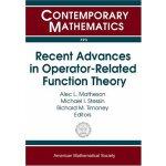 【预订】Recent Advances in Operator-Related Function Theory 978