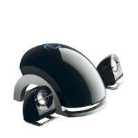 多媒体2.1有源台式笔记本电脑音箱低音炮音响 家用重低音小钢炮 黑色