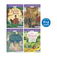 Usborne English Readers Level 3 英语小读者分级阅读 高级4册 莎士比亚 雾都孤儿 儿童