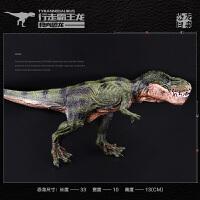 霸王龙 暴龙模型儿童实心仿真野生动物恐龙模型玩具