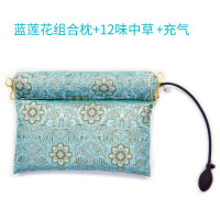 荞麦决明子颈椎枕头修复专用糖果圆柱形硬枕头枕芯颈椎护颈枕 +充气