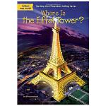 华研原版 埃菲尔铁塔在哪里 英文原版 Where Is the Eiffel Tower 英文儿童桥梁章节书 中小学生