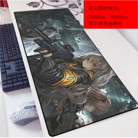 少女前线卡通动漫鼠标垫70x超大AK网吧桌垫游戏锁边加厚键盘垫多尺寸可选(2