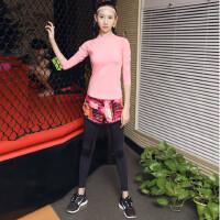瑜伽服套装专业健身服女修身显瘦运动愈加跑步服