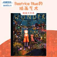 现货 英文原版 Beatrice Blue的插画艺术 精装 Wonder: The Art and Practice of Beatrice Blue