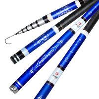 碳素台钓竿4.5/5.4米鱼竿手竿钓竿钓鱼竿轻硬手竿