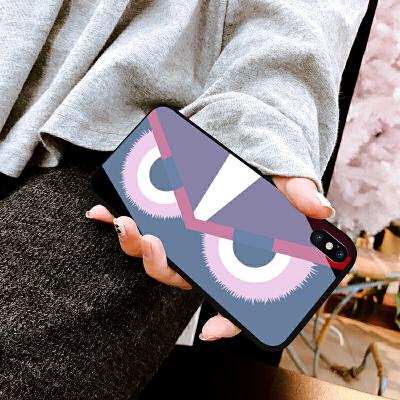 苹果iPhone xs max手机壳iPhone xr手机壳8女款xs玻璃x潮牌8plu