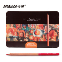 马可雷诺阿48色X79油性彩色铅笔3100-48TN-1盒48支