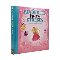 Favourite Fairy Stories 宝贝爱 精装软包封面 仙子英语故事绘本合集精装 儿童英文原版图书进口