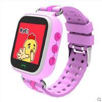 韩版可爱多功能通话微信手表儿童学生定位男女电子手表触屏插卡彩屏LED手表