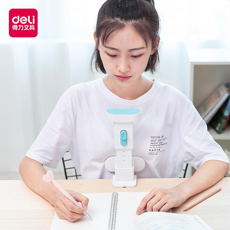 得力坐姿矫正器儿童写字小学生用视力保护器写字架纠正姿势防驼背提醒器低头调整近视护眼支架写作业书写架