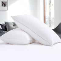 酒店鸭绒羽绒枕枕头枕芯护颈枕单人家用枕头