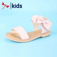 【95元2件】�t蜻蜓童鞋夏季新款中大童女童鞋子�和��n版�r尚透�庑」�主�鲂�