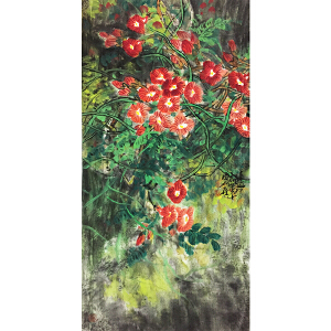 宋雨桂《花鸟》著名画家