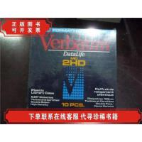 [二手9成新]软盘verbatim datalife MD 2HD 10pcs【全新未拆塑封.