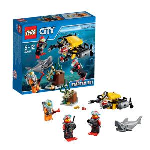[当当自营]LEGO 乐高 CITY城市系列 深海探险入门套装 积木拼插儿童益智玩具 60091
