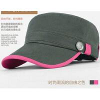 平顶帽子女士帽韩版户外牛仔时尚休闲鸭舌帽潮款帽太阳帽