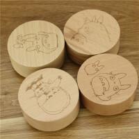 动漫龙猫榉木发条音乐盒八音盒创意木质工艺品个性新奇特家居摆件