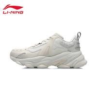 李宁CF层影休闲鞋男鞋男士鞋子经典时尚低帮运动鞋AGLR047