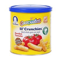 【当当海外购】美国Gerber嘉宝 泡芙条田园番茄 42g 宝宝辅食