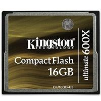 金士顿(Kingston)16G 600x CF存储卡(CF/16GB-U3)极速卡90m/s