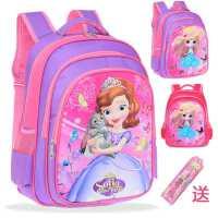 儿童书包小学生女孩1-3-5一二年级女童减负卡通可爱公主双肩背包6