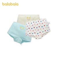 【2件7折:55.3】巴拉巴拉女童�妊�棉�|平角女童短�中大童小童可�凼孢m3�l�b