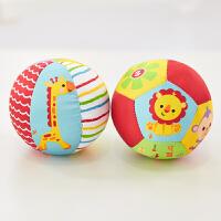 费雪(Fisher Price)玩具 儿童玩具球 动物认知球宝宝摇铃球(内含两个玩具球) F0805
