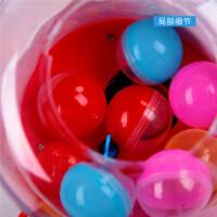 乐吉儿娃娃扭蛋机糖果机儿童小型桌面游戏机女孩玩具